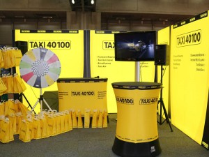 Citymotion Messestand Taxi 40100